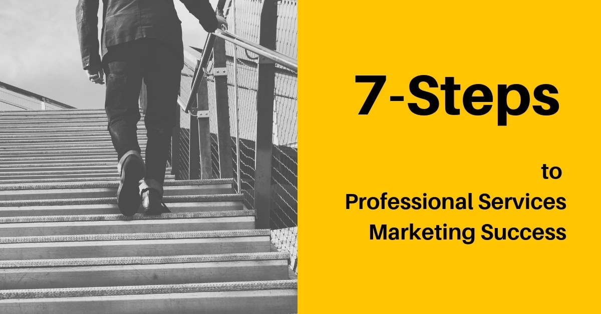 The 7-Steps to Marketing Success for Professional & Financial Services